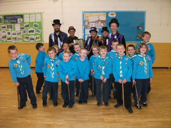 Anonymous Morris with the Canford Heath Beavers